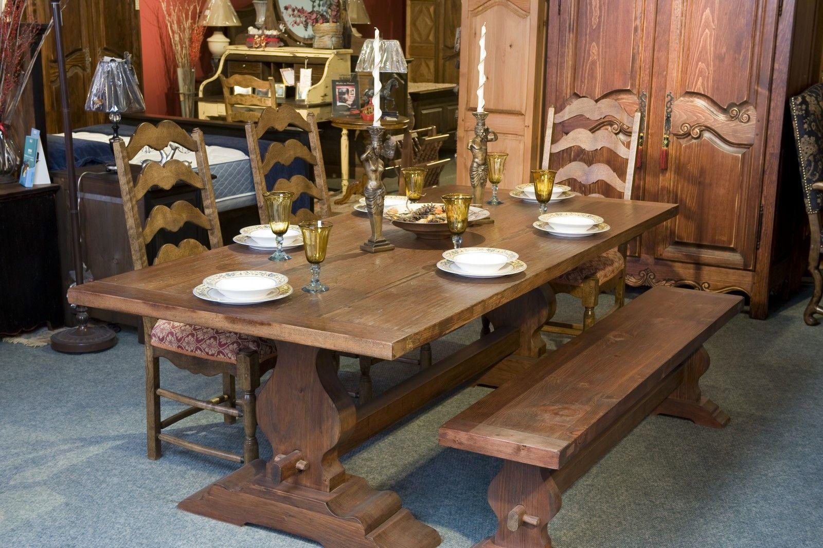 Meubles De Salle A Manger Dining Table Rustic Dining Rustic Dining Table