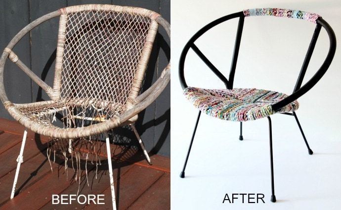 Surprising Upcycle Style Vintage Saucer Chair Makeover Crafty Gmtry Best Dining Table And Chair Ideas Images Gmtryco