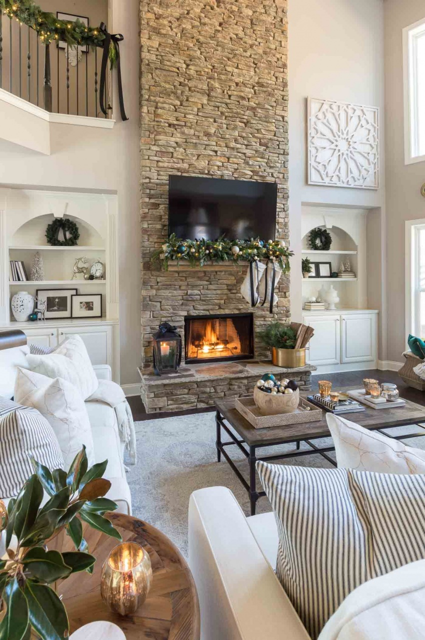 Decorating Living Room Without Fireplace In 2020 Simple Li