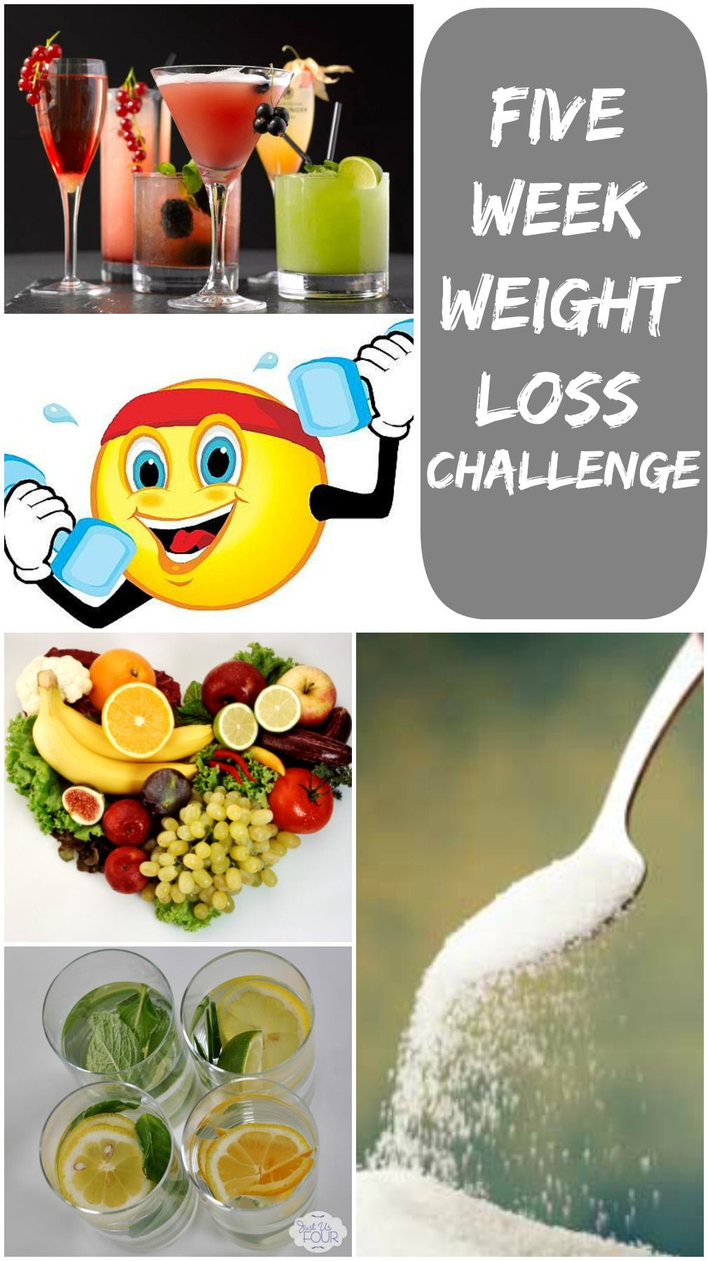 A Five Week Weight Loss Competition Where You Compete With Friends