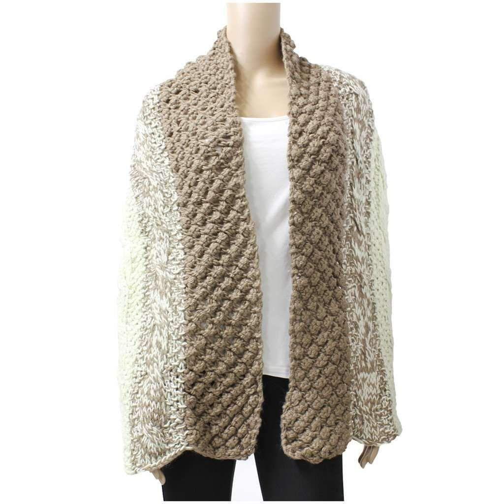 Multi Pattern Wool Blend Winter Knit Scarf | Winter knit ...