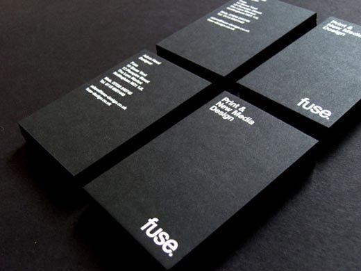 Foil Stamped Business Card Foil Blocking 7 De Business Card