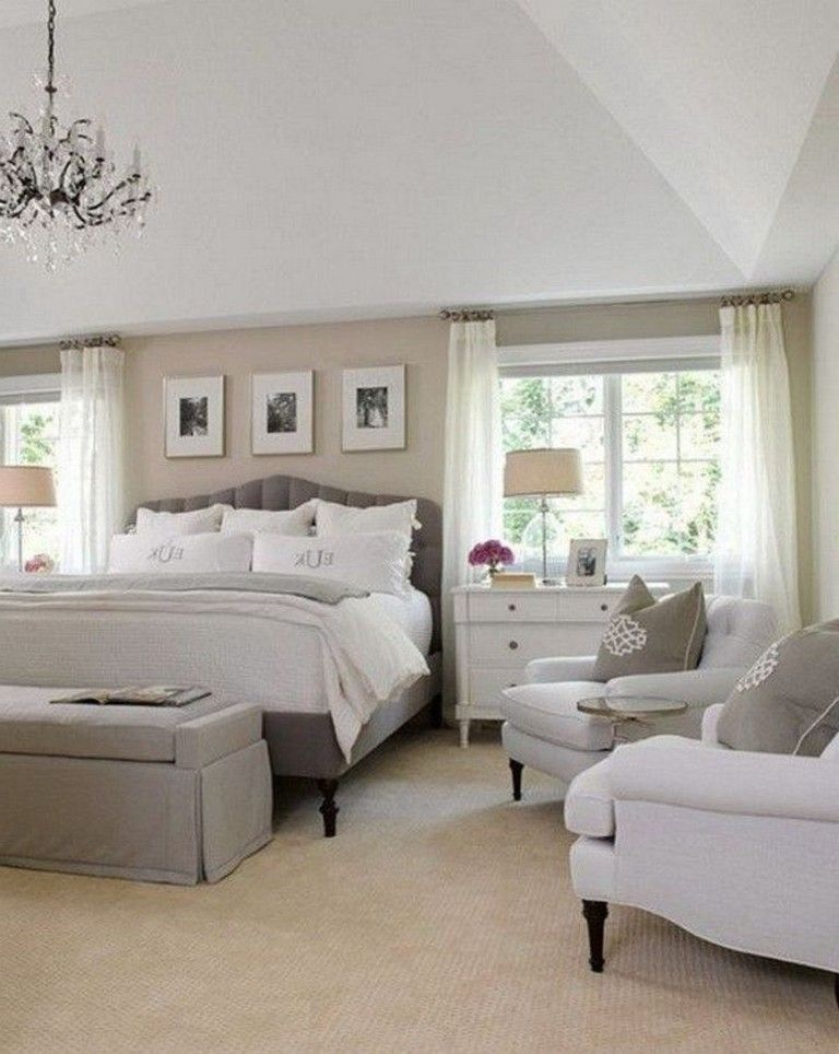 30 Cozy Neutral Bedroom Design Ideas Beige Bedroom Decor Luxurious Bedrooms Luxury Bedroom Design