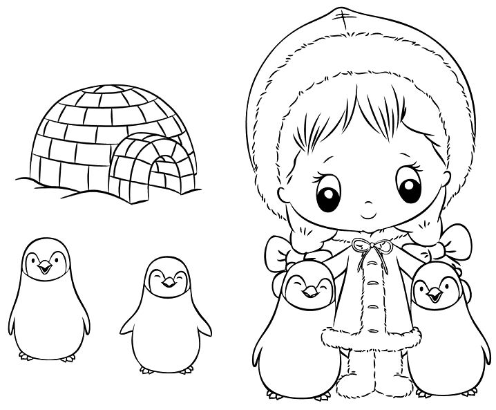 Warm Heart   Digi stamps, Digital stamps, Coloring pages