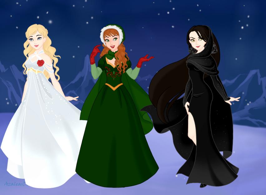 Three Female Spirits of Christmas. Ghost of Christmas Past and Ghost of … | Ghost of christmas ...