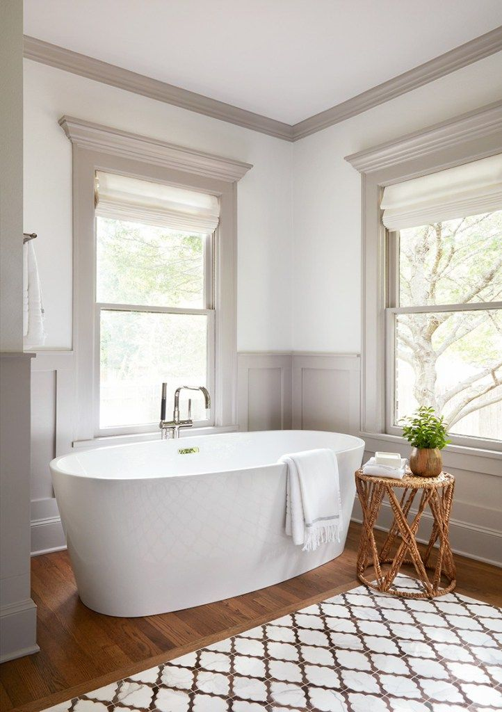 The Scrivano House from Fixer Upper Bathroom #fixerupper