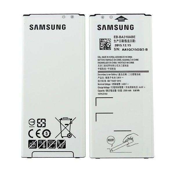 قیمت خرید باطری اصلی Samsung Galaxy A310 A3 2016 Eb Ba310abe