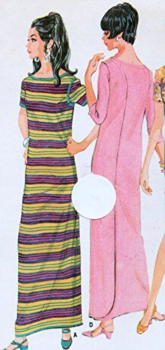 McCall's 9181 Misses Wrap-Around Caftan or Dress, Muu Muu in 2 Lengths Sewing Pattern Large Size 16-18, Vintage 1970 McCall's http://www.amazon.com/dp/B013MO9TNO/ref=cm_sw_r_pi_dp_IF5Xvb1QCEQ5K