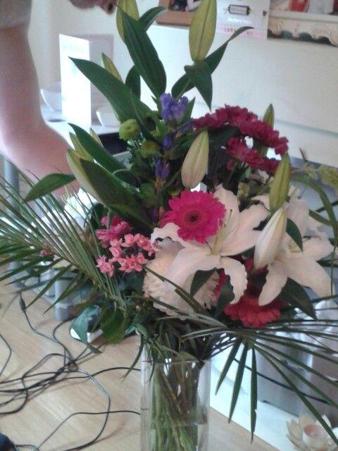 Anniversary flowers :)
