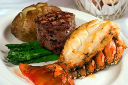 Turf N Surf >> We Are Serving Everyone Surf And Turf At The Reception Makes For