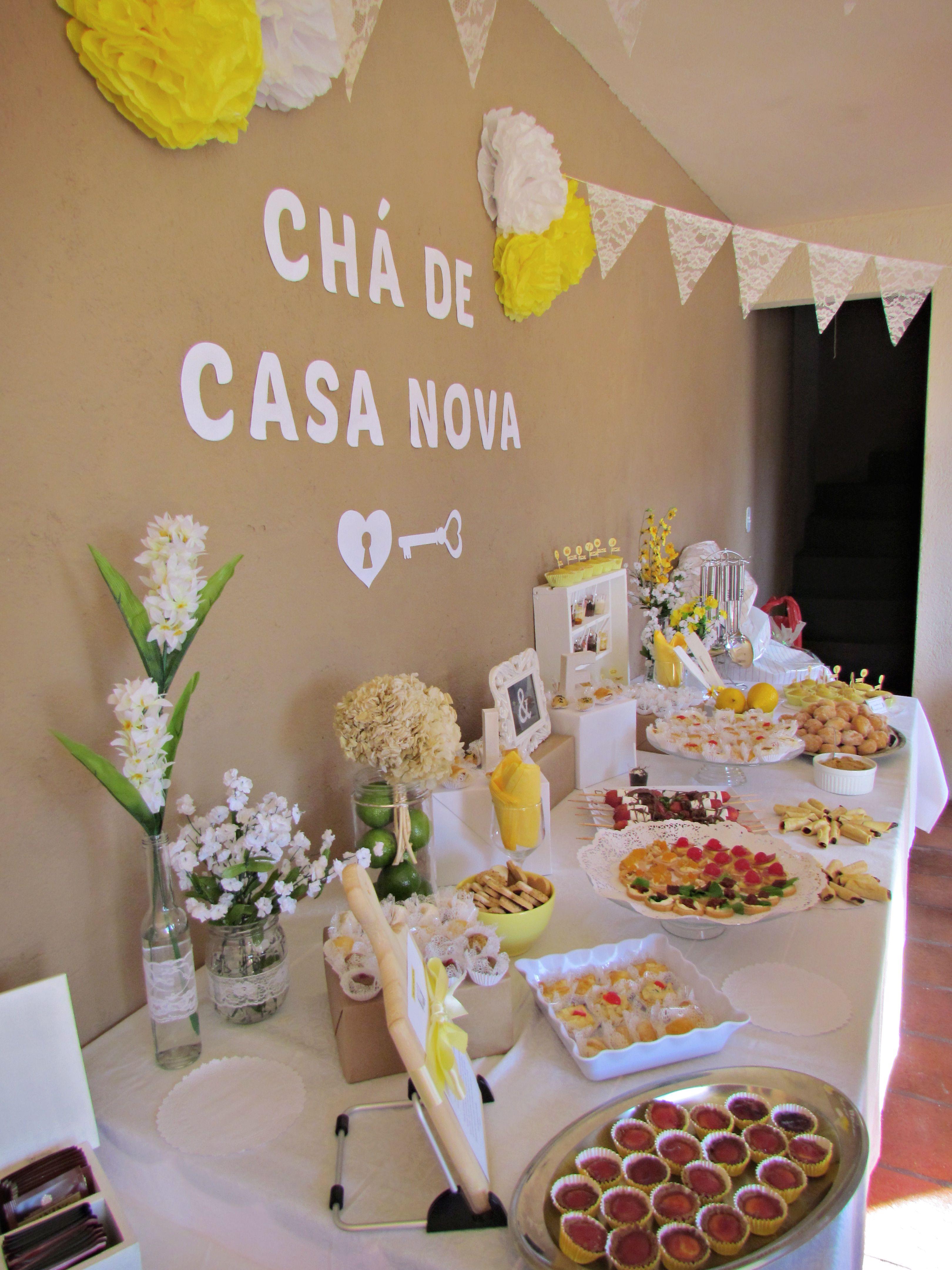 Ch? de Casa Nova - Decora??o / Bridal Shower Decor / Party Decor ...