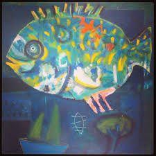 Resultado de imagen de pinturas peces