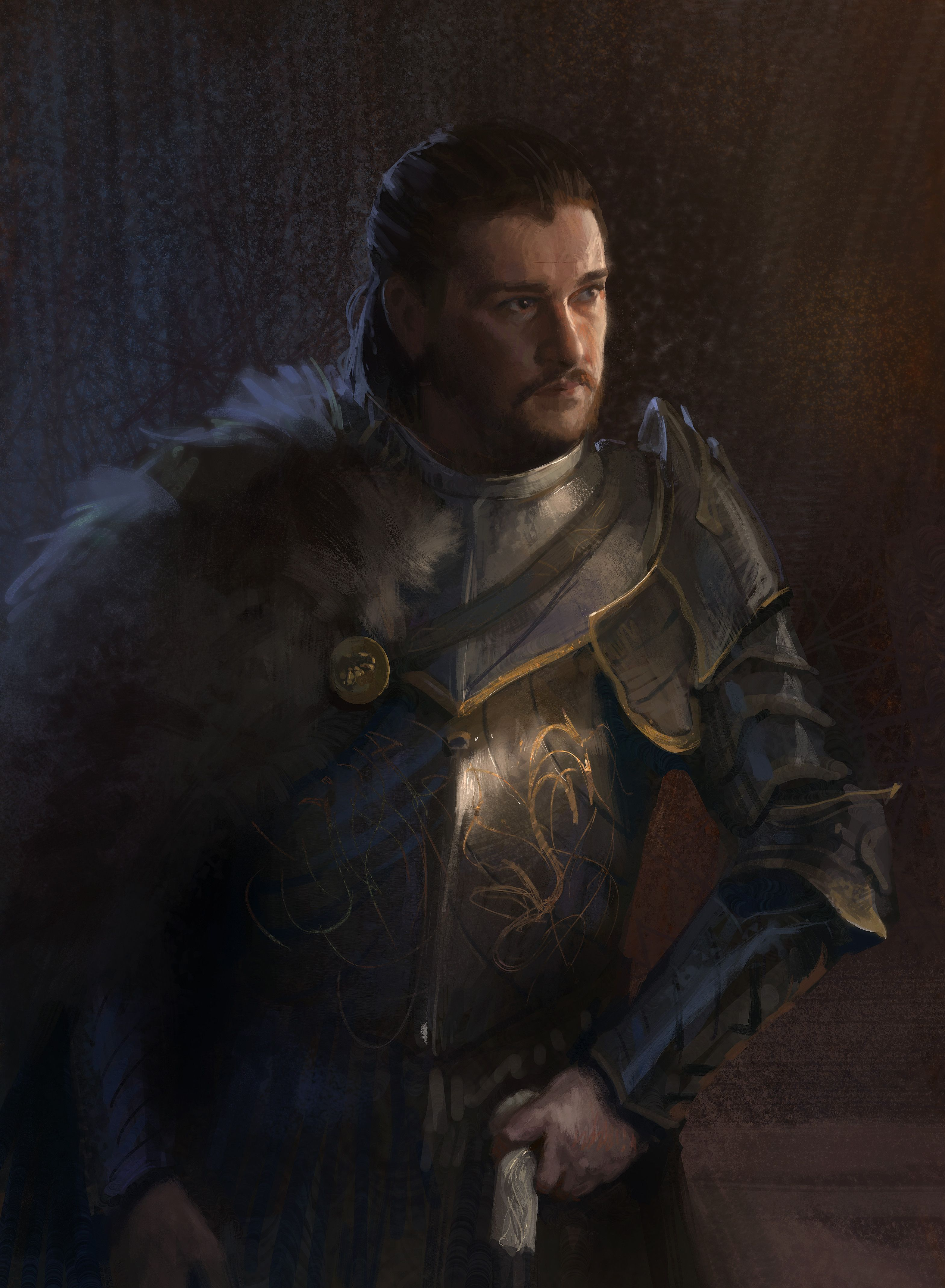 Main Spoilers Painted Jon With His Father S Armor A Song Of Ice And Fire King In The North Jon Snow Targaryen This item is worth 31150 when sold to the shop. main spoilers painted jon with his