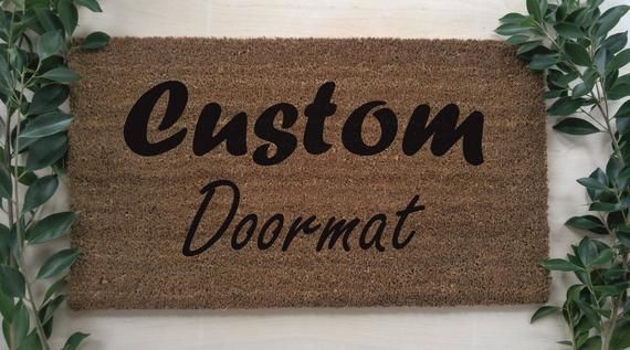 Unique Housewarming Gift, Customized Outdoor Rug, New Home Gift, Realtor Gift, Personalize Mat, Custom Doormat, Personalized Door Mat