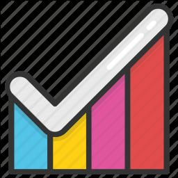 Digital And Internet Marketing 3 By Vectors Market Free Icon Set Bar Graphs Icon