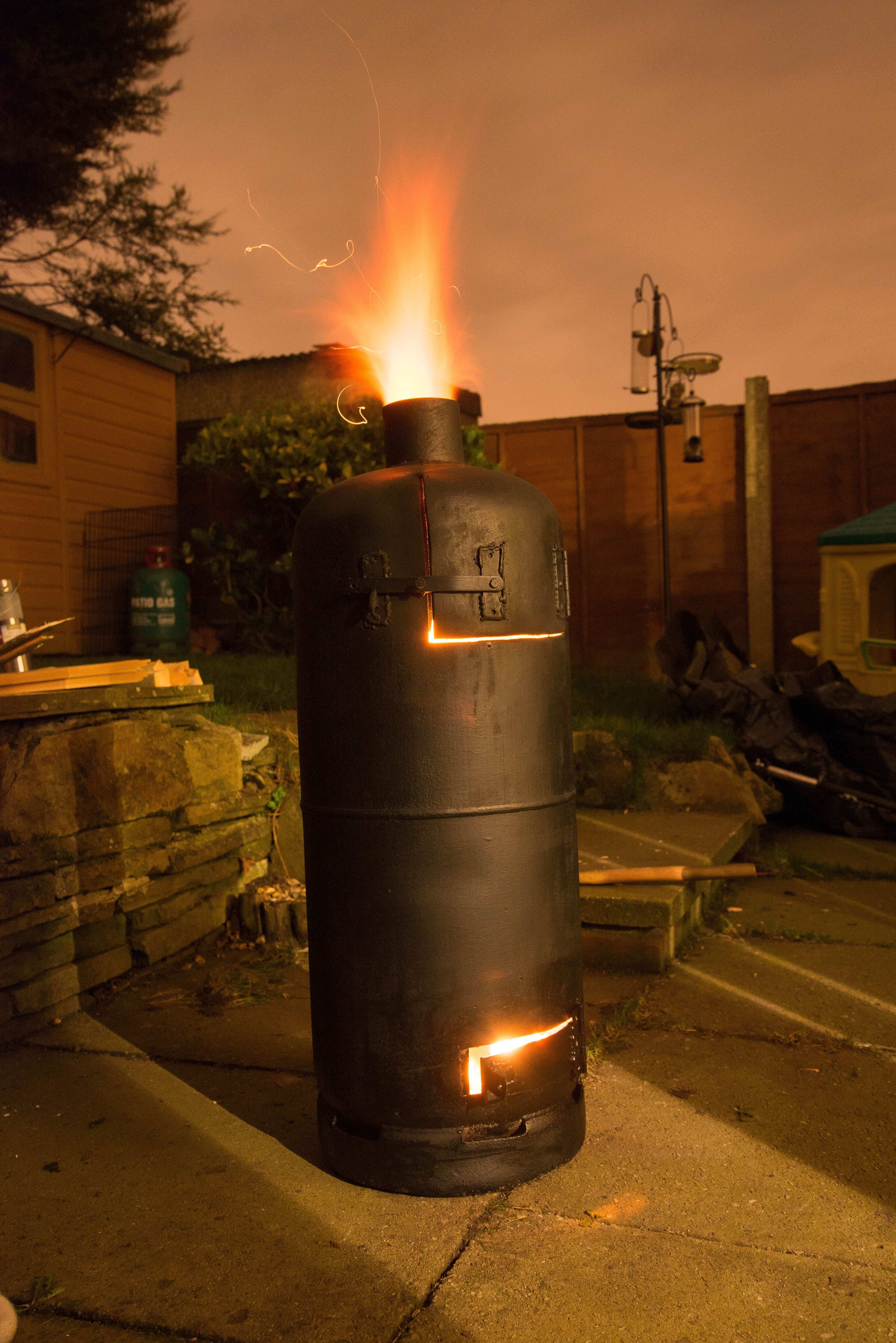 Recycled Gas Cylinder Stove Patio Heater Patio Heaters