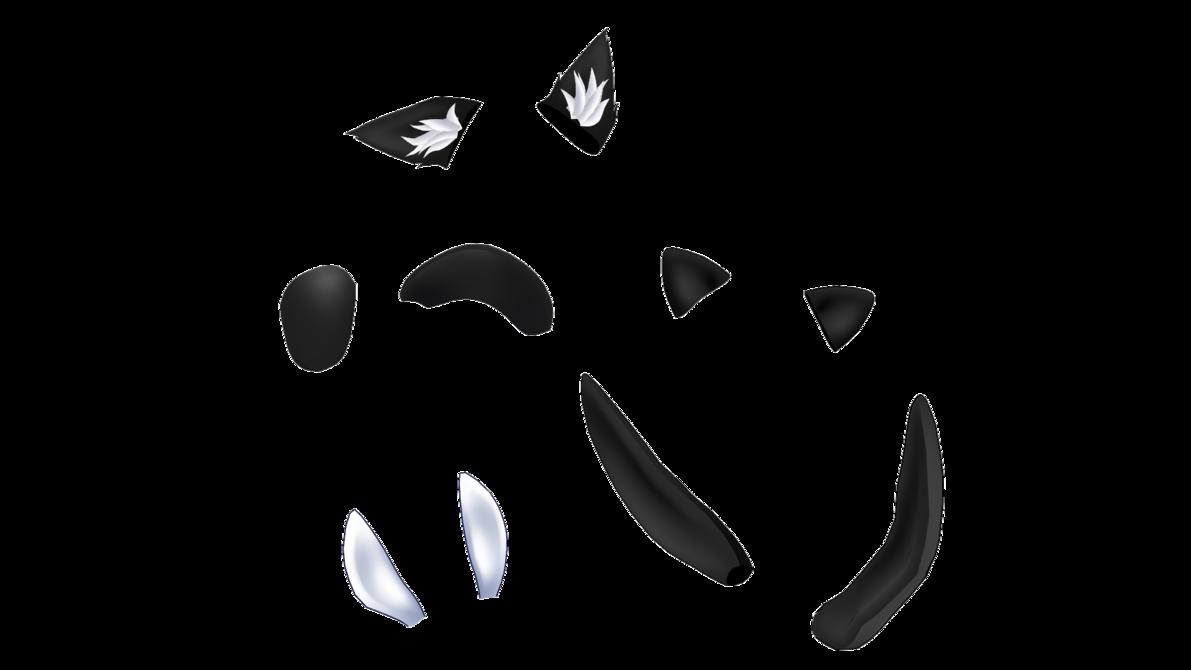 Mmd Ear Pack By Auauauaua Ear Wolf Ears Cat Ears