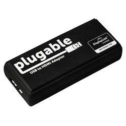Plugable USB 3 0 to HDMI / DVI Adapter for Windows and Mac