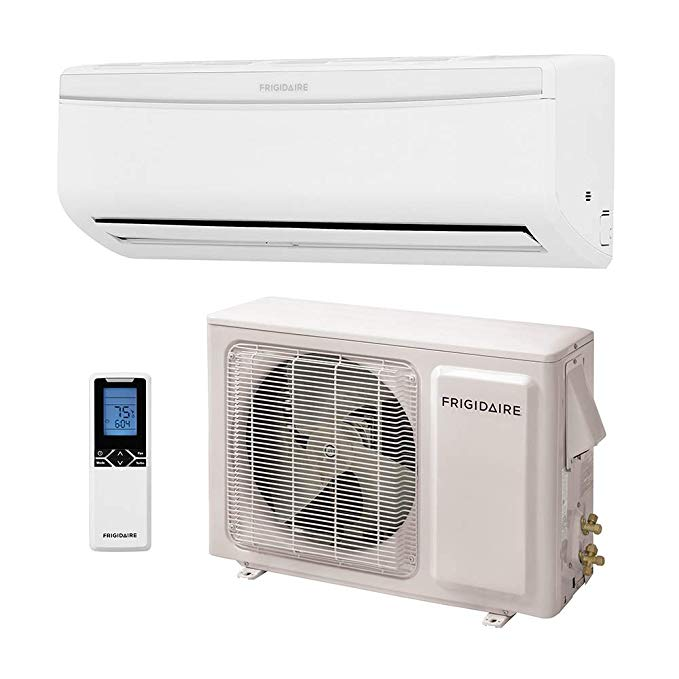 Amazon Com Frigidaire Ductless Wall Mount Mini Split Inverter Air Conditioner With Heat Pump 22000 Btu 2 Ton Heat Pump Air Conditioner Heat Pump Ductless