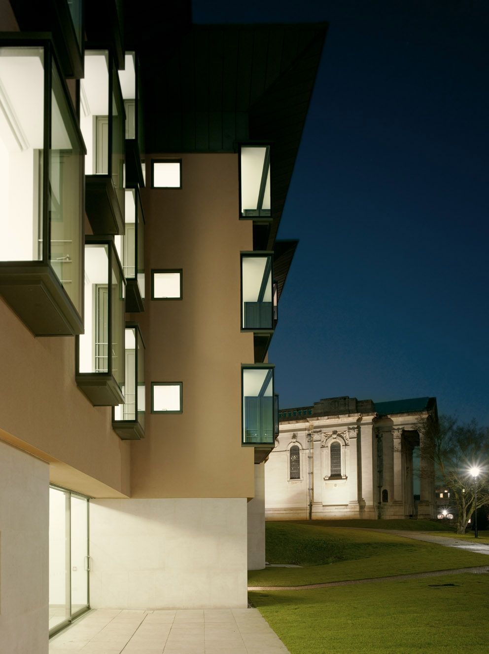 Girls Boarding House, Stowe School // Rick Mather Architects // 2008