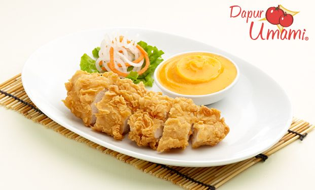Ayam Katsu Sajiku Makanan Resep Masakan Resep