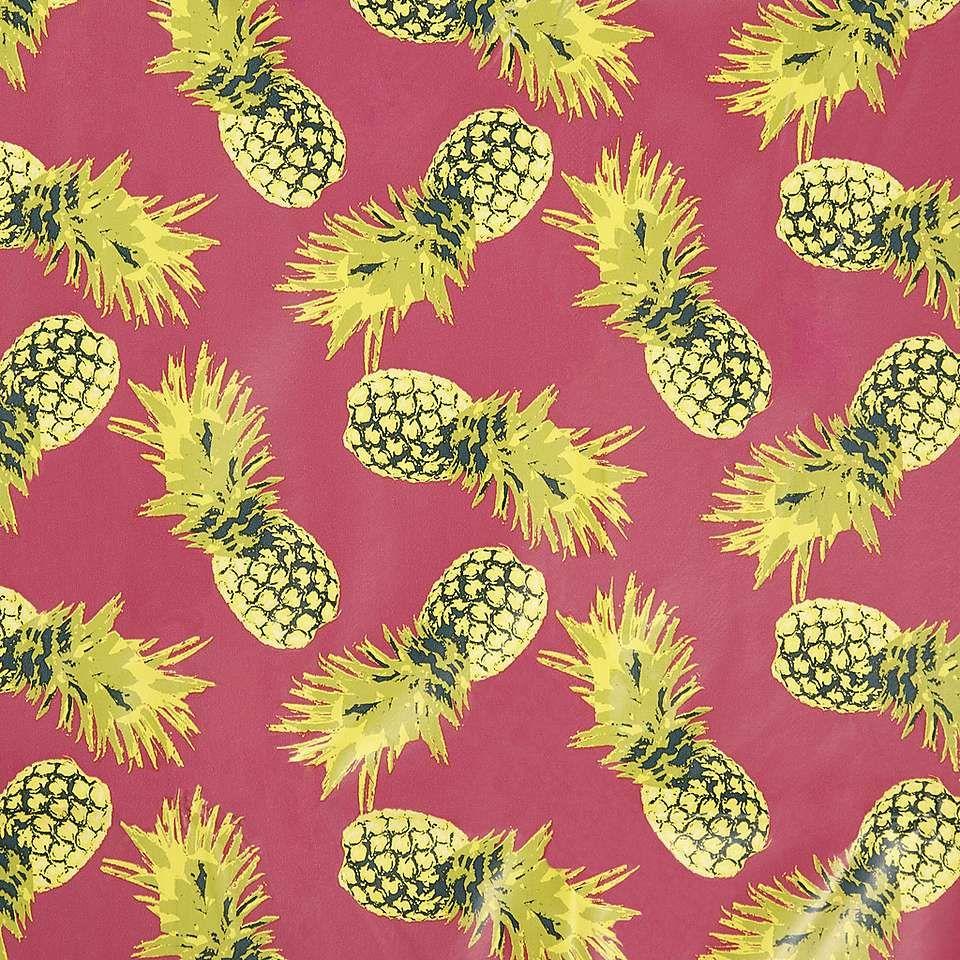 Pineapple Print Pvc Tablecloth Dunelm Pineapple Print