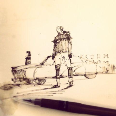 flaps sketchbook