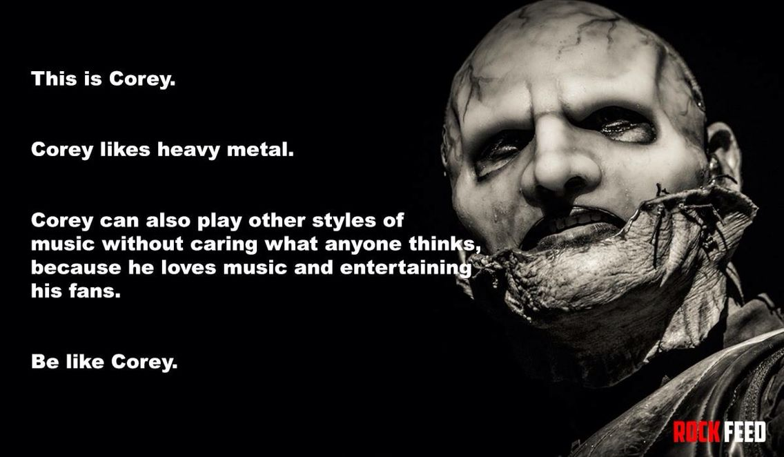 Pin by Laura Anderson on Corey Taylor - Memes, Lyrics & Quotes ...