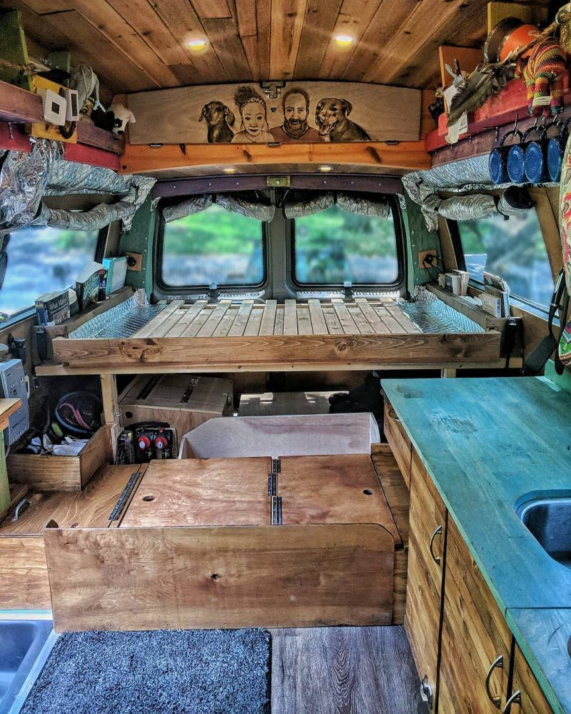 Photo of Gnomad Home Van Build – Tiny House Design