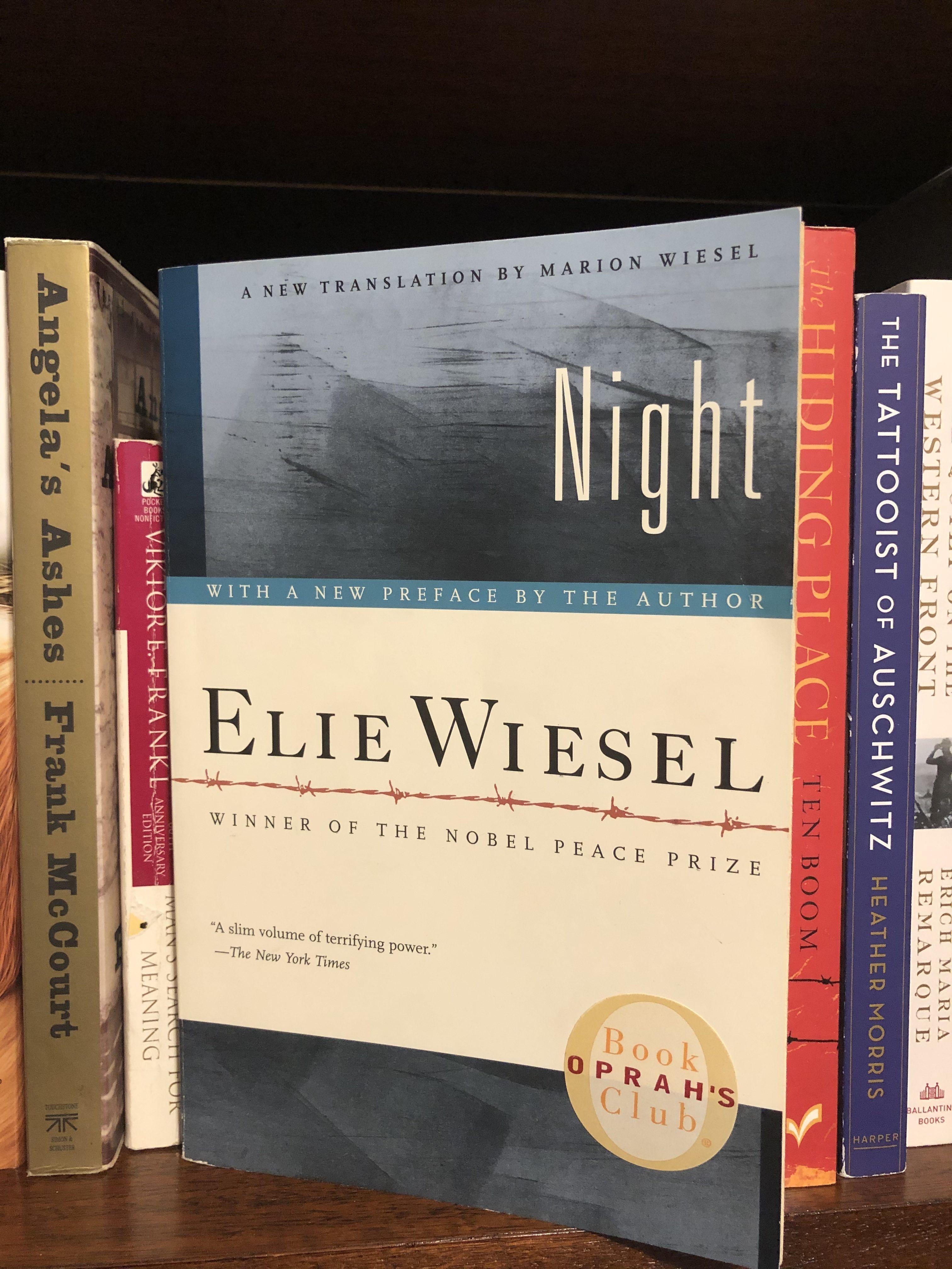 Night by Elie Weisel Sarah Anne Carter Books, Kids