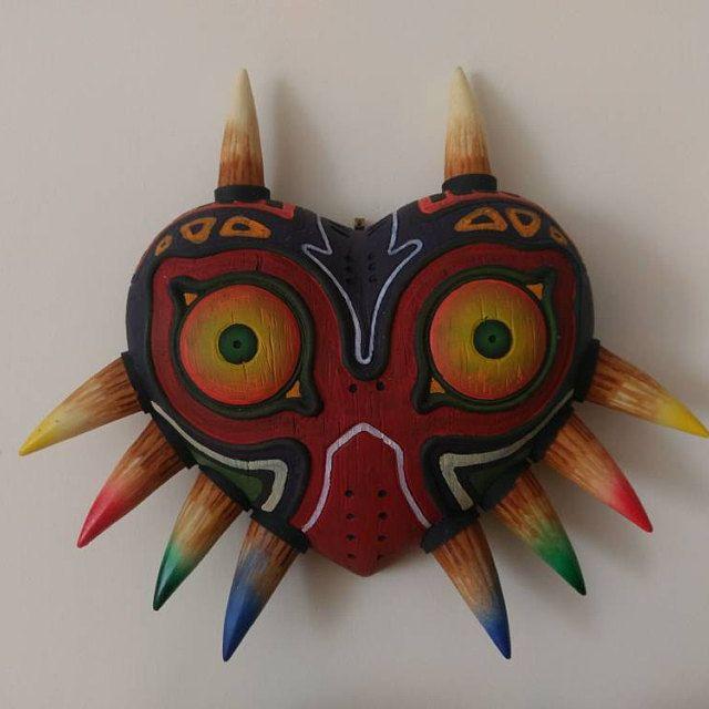Legend Of Zelda Mask Set Made By Masenkoprops 3ds Art Botw