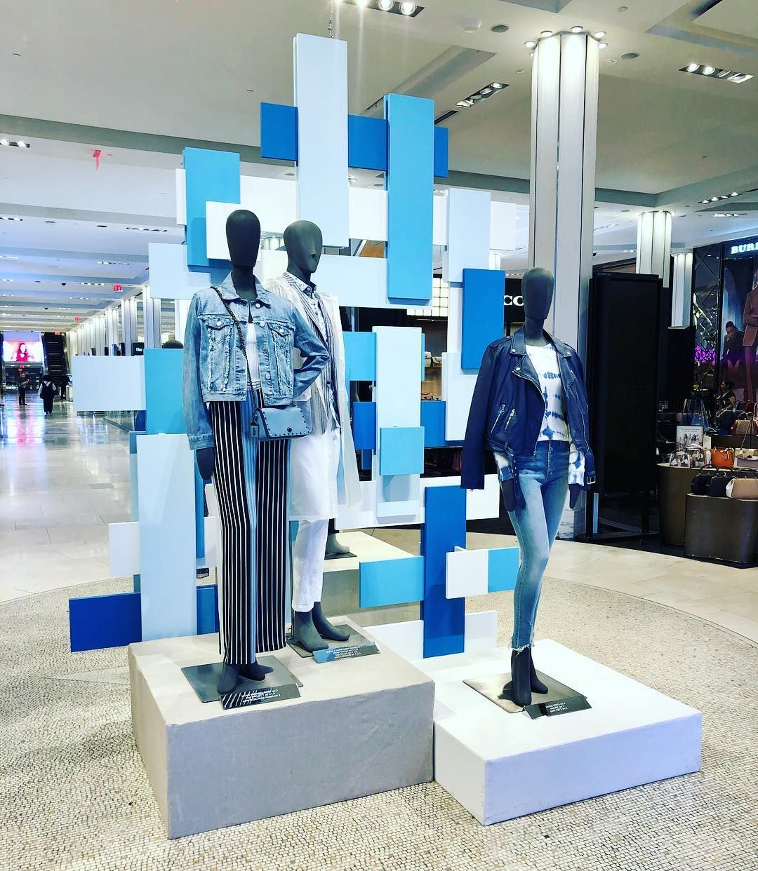 Macy S Herald Square New York City Usa Still Got The Blues For You Photo By Martin Pinned By Winter Window Display Retail Store Design Store Design