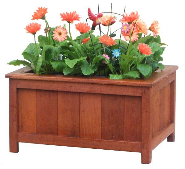DIY Wood Planter Box   Http://www.ergopharm.net/wp