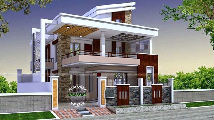 House Outer Design, Modern House Design, Indian House Exterior Design,  Simple House Plans