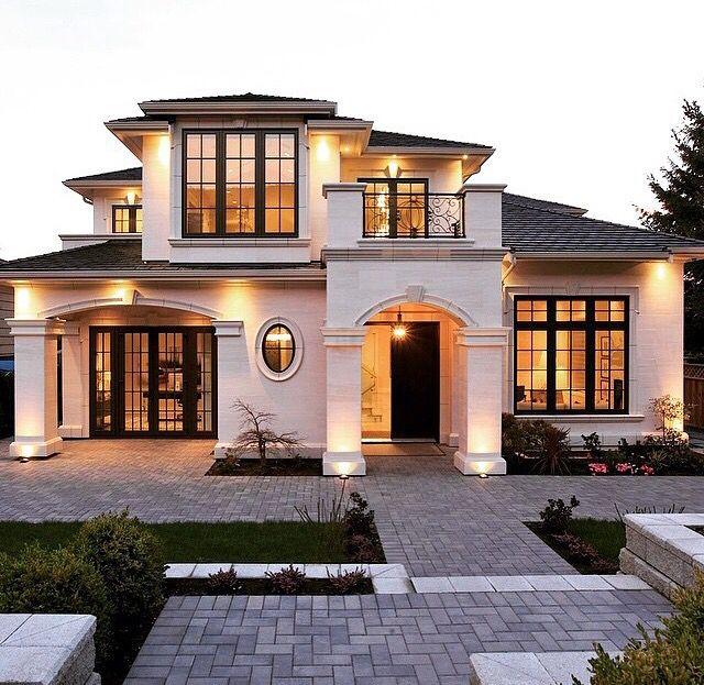 Beautiful House 현대 주거 건축 주택평면도 고급 주택
