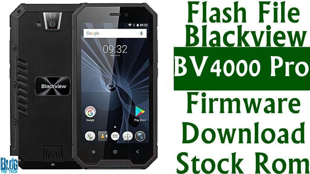 Flash File] Blackview BV4000 Pro Firmware Download [Stock Rom
