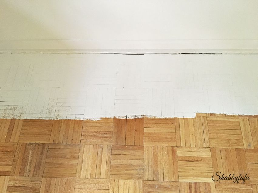 Diy How To Paint Wood Floors Like A Pro With Images Painted