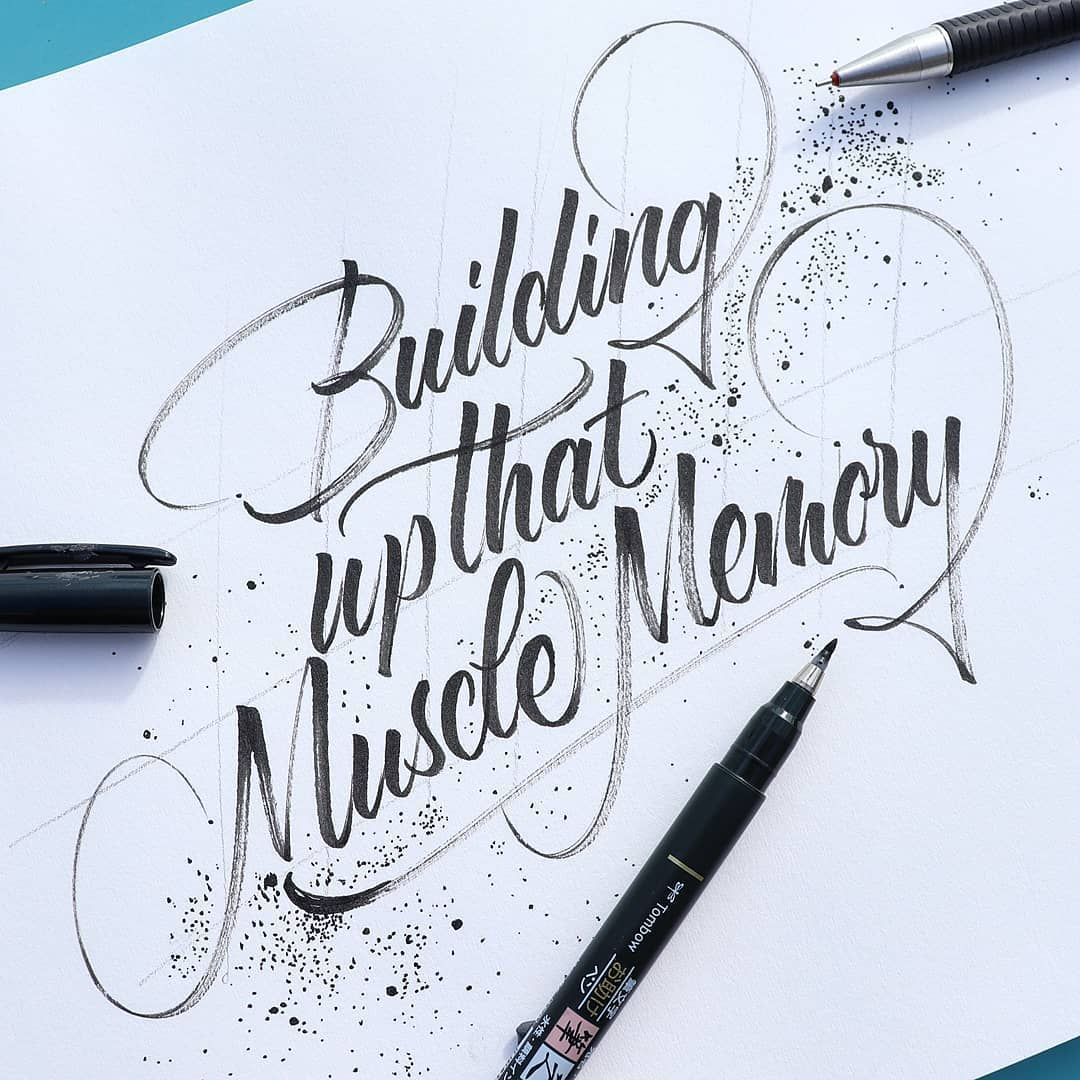 How To Do Modern Calligraphy (3 Popular Styles 2019) | Lettering Daily