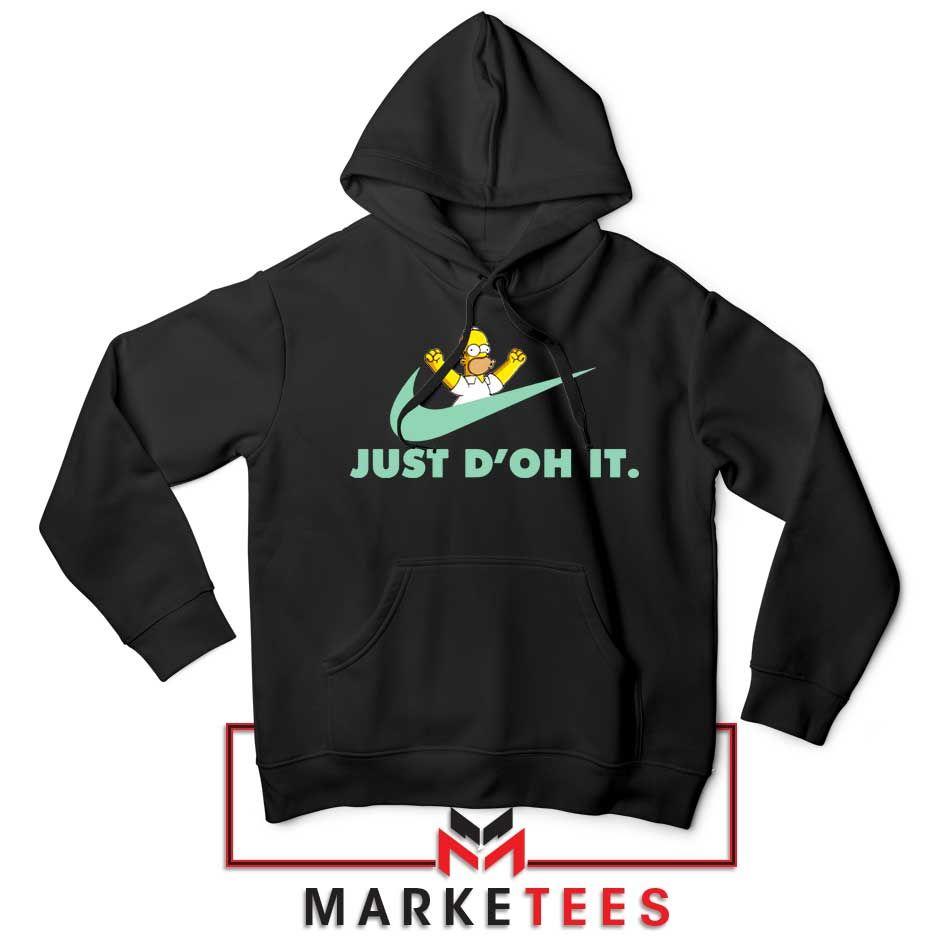 Simpson Just Do It Hoodie Parody Nike Hoodies S 2xl Best Apparel Hoodies Nike Hoodie Hoodies Womens