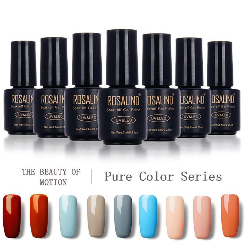 GRAY Color Series UV LED Soak-off Gel Nail FREE Shipping Worldwide ...