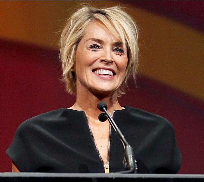 Sharon Stone Frisuren In 2018