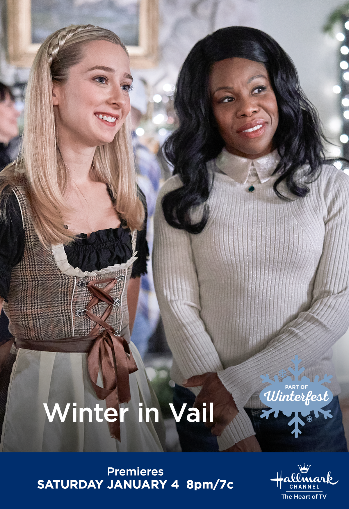 "Sage Kitchen and Marla Renae costar in ""Winter in Vail"