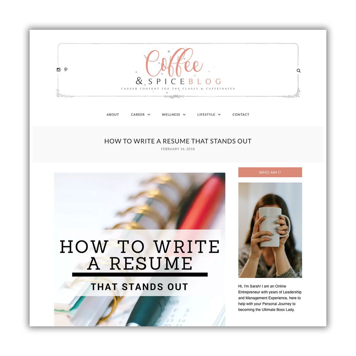 How to Write a Resume that Stands Out Resume, Writing