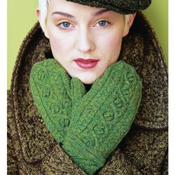 The gorgeous Green Autumn mittens by Jared Flood
