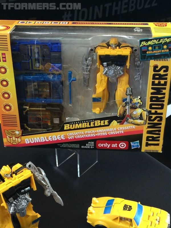 Sdcc 2018 New Bumblebee Energon Igniters Movie Toys From Hasbro