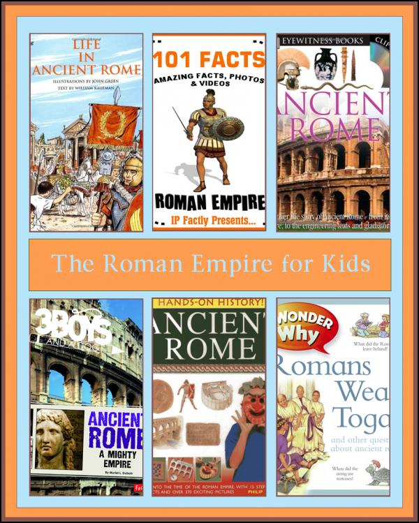 Books About the Roman Empire for Kids   Roman empire ...
