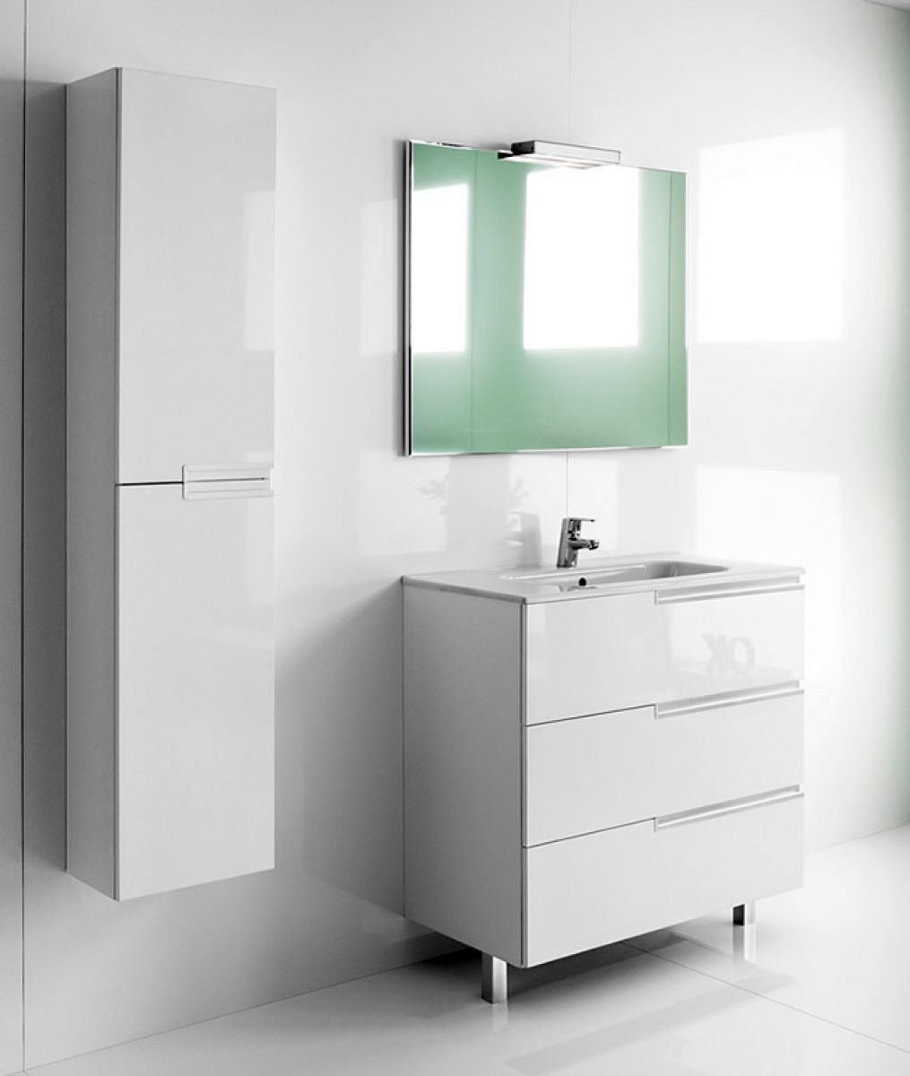 Mirrored Bathroom Cabinets Uk Roca Victoria N Unik 3 Drawer Vanity Unit With Basin Uk
