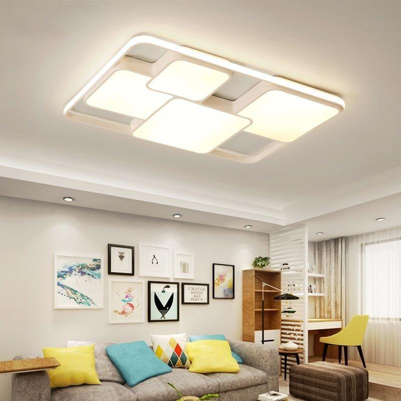 Modern Led Ceiling Lights For Living Room Bedroom Furniture Design Living Room Living Room Lighting Lamps Living Room