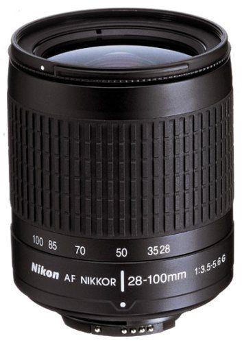 Nikon 28 100mm F 3 5 5 6g Autofocus Nikkor Lens Digital Camera Lens Nikon Lens