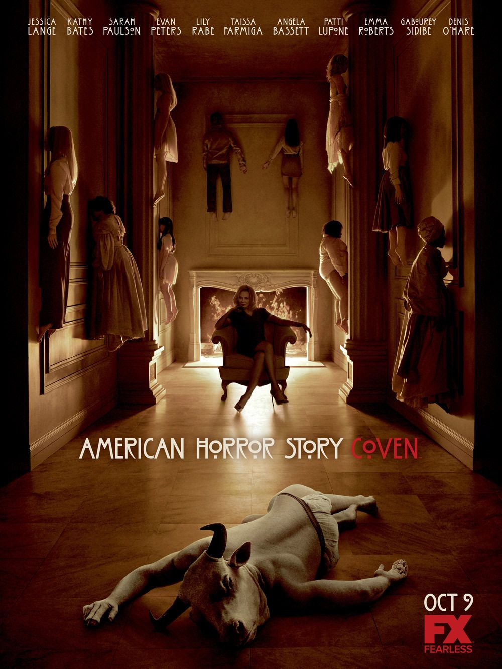 American Horror Story Coven Poster All Multidao Historias De